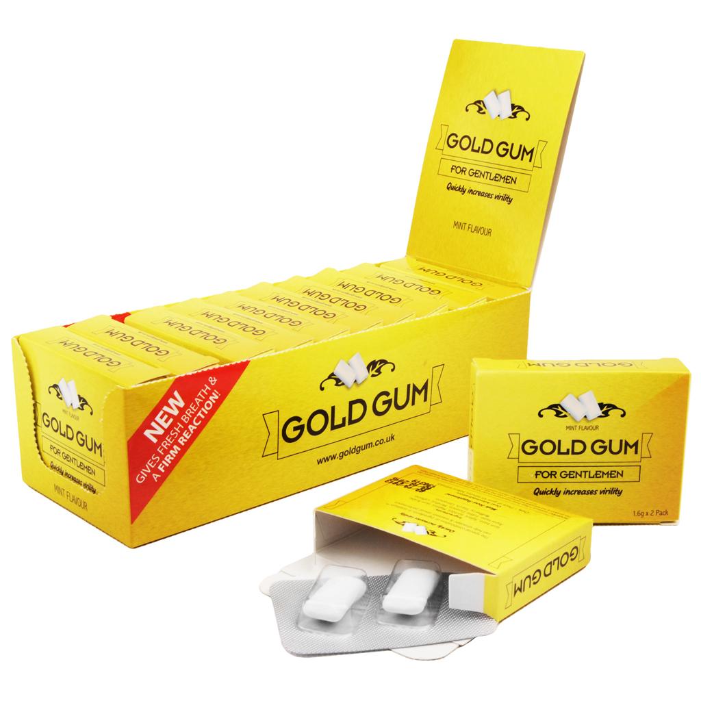 large gold gum