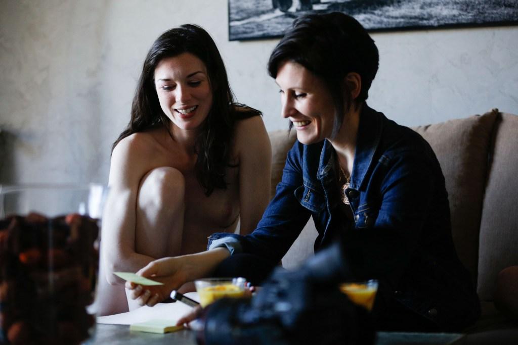 la réalisatrice OVIDIE et l'actrice Stoya