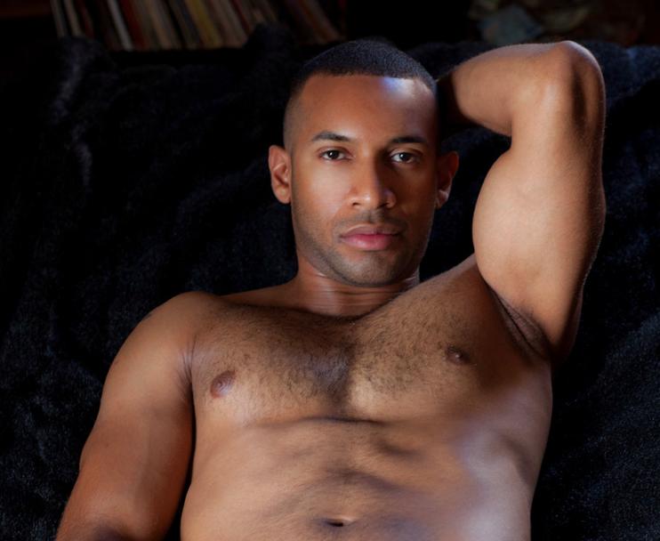 gay black model
