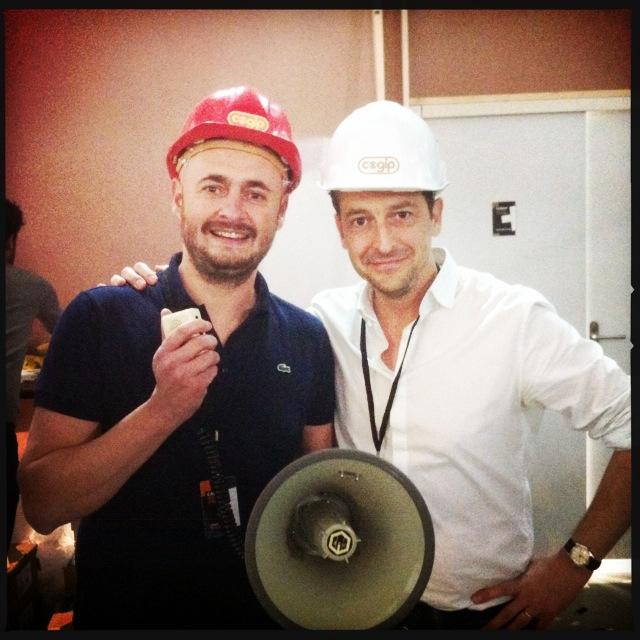 Photo 1.Nicolas et Bruno, période Cogip.