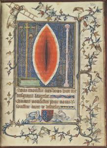 Détail du Christ médiateur, de Colijn de Coter
