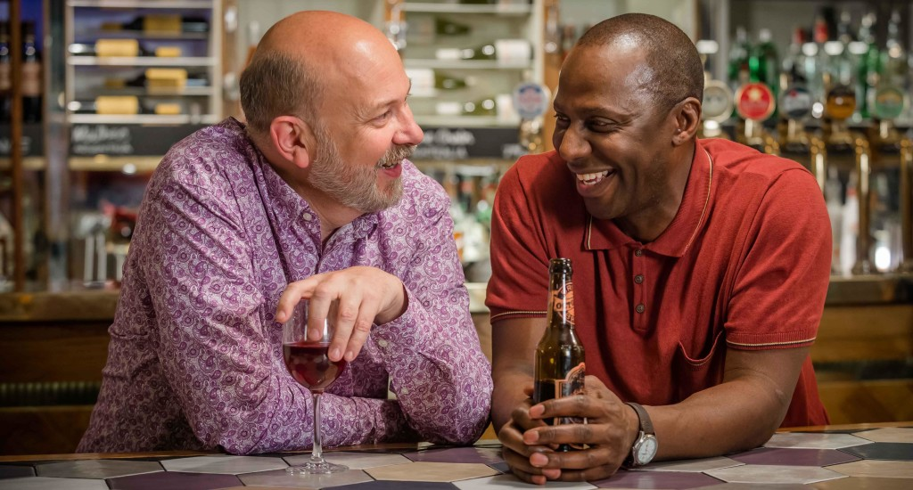 Vincent Franklin as Henry and Cyril Nri as Lance