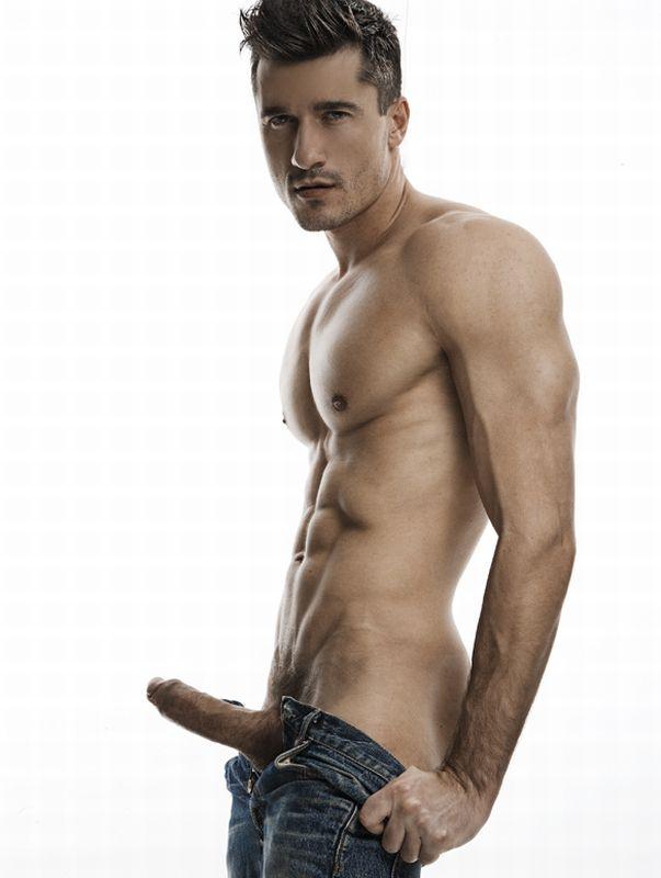 from Ayden naked model male hard