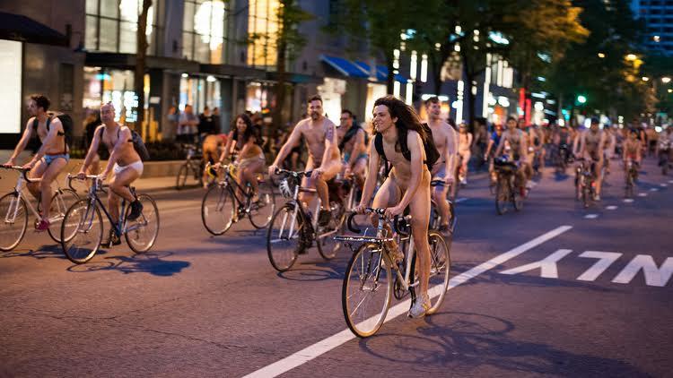 La Voix du X - Manif en vélo à poil - Visuel (2)