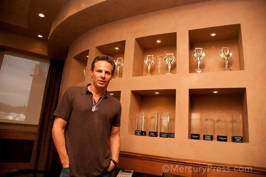 USA, California, Los Angeles. Steve Hirsch, Vivid Entertainment Co-Founder. Photo ©Isaac Hern‡ndez/MercuryPress
