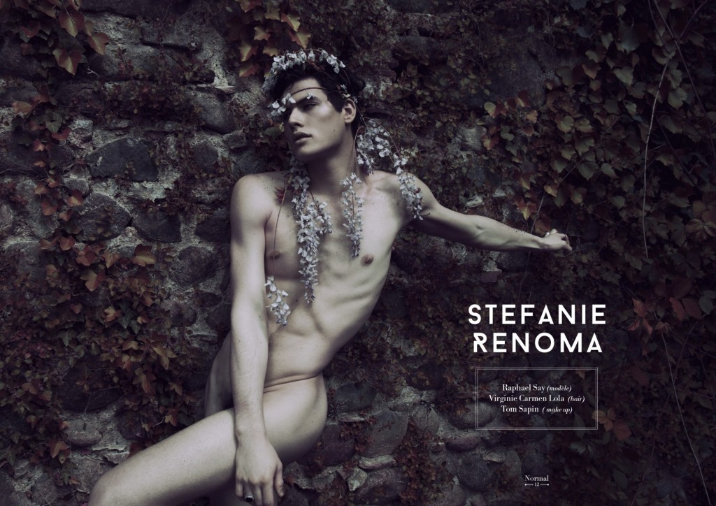 Modèles masculins nus avec érections