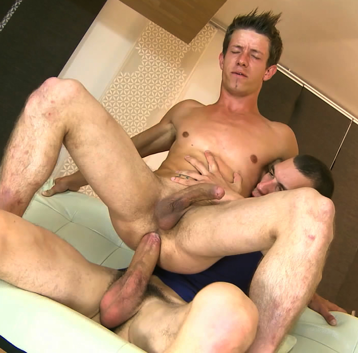 Aussie Big Dick Muscle Hardcore Fuck