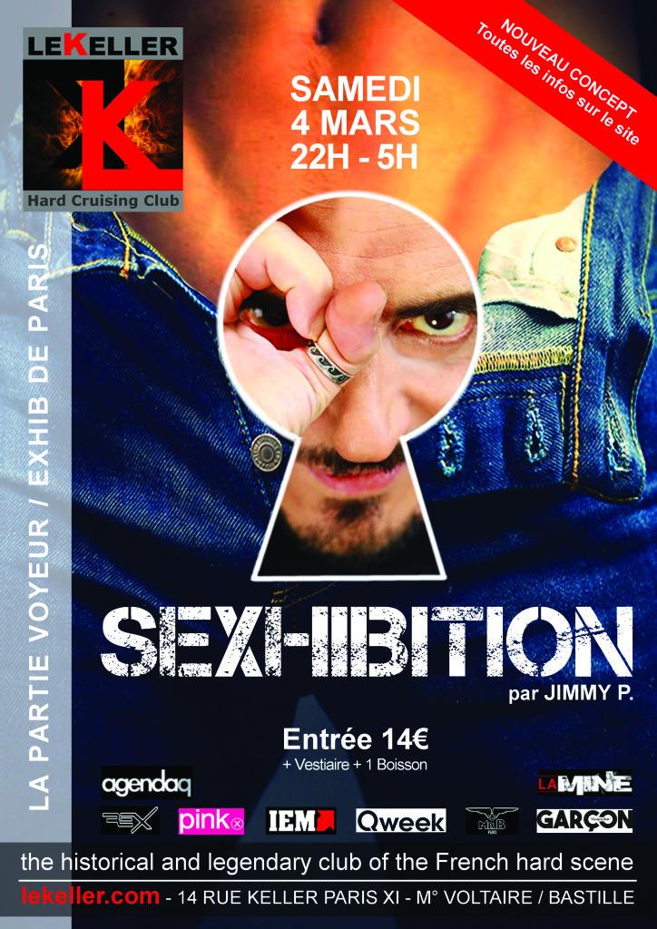 LVDX - GAY - SOIREE - Sexhibition - Visuel (2) - Affiche