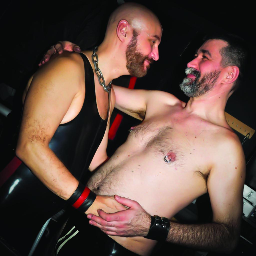 LVDX - GAY - SOIREE - Sexhibition - Visuel (2) - Stefan & Paco, les boss du Keller