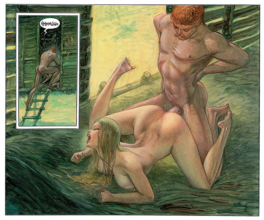 Nagarya, saga de science-fiction érotique et mythologique par Riverstone. © 2016 Dynamite, Riverstone.