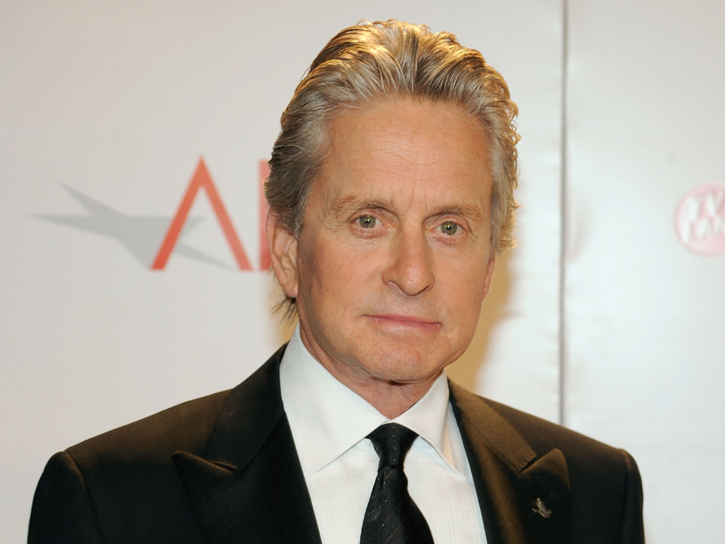 CULVER CITY, CA - JUNE 11: Actor Michael Douglas poses with the Life Achievement In Motion Pictures and Television award at the AFI Lifetime Achievement Award: A Tribute to Michael Douglas award presentation held at Sony Pictures Studios on June 11, 2009 in Culver City, California. (Photo by Frazer Harrison/Getty Images for AFI) *** Local Caption *** Michael Douglas
