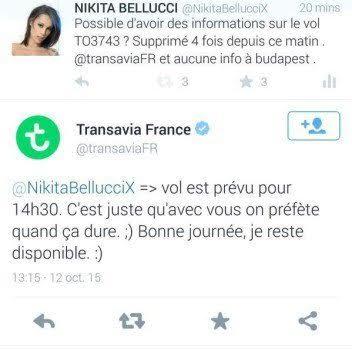 LVDX - CLASH - Nikita Bellucci enflamme les réseaux sociaux - Visuel (2) - Tweet