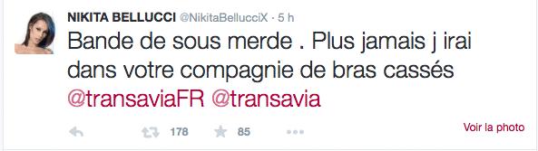 LVDX - CLASH - Nikita Bellucci enflamme les réseaux sociaux - Visuel (3) - Tweet