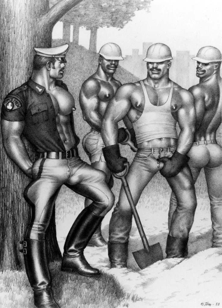 LVDX - GAY - ILLUSTRATION - Tom of Finland - Visuel (3) - Chantier