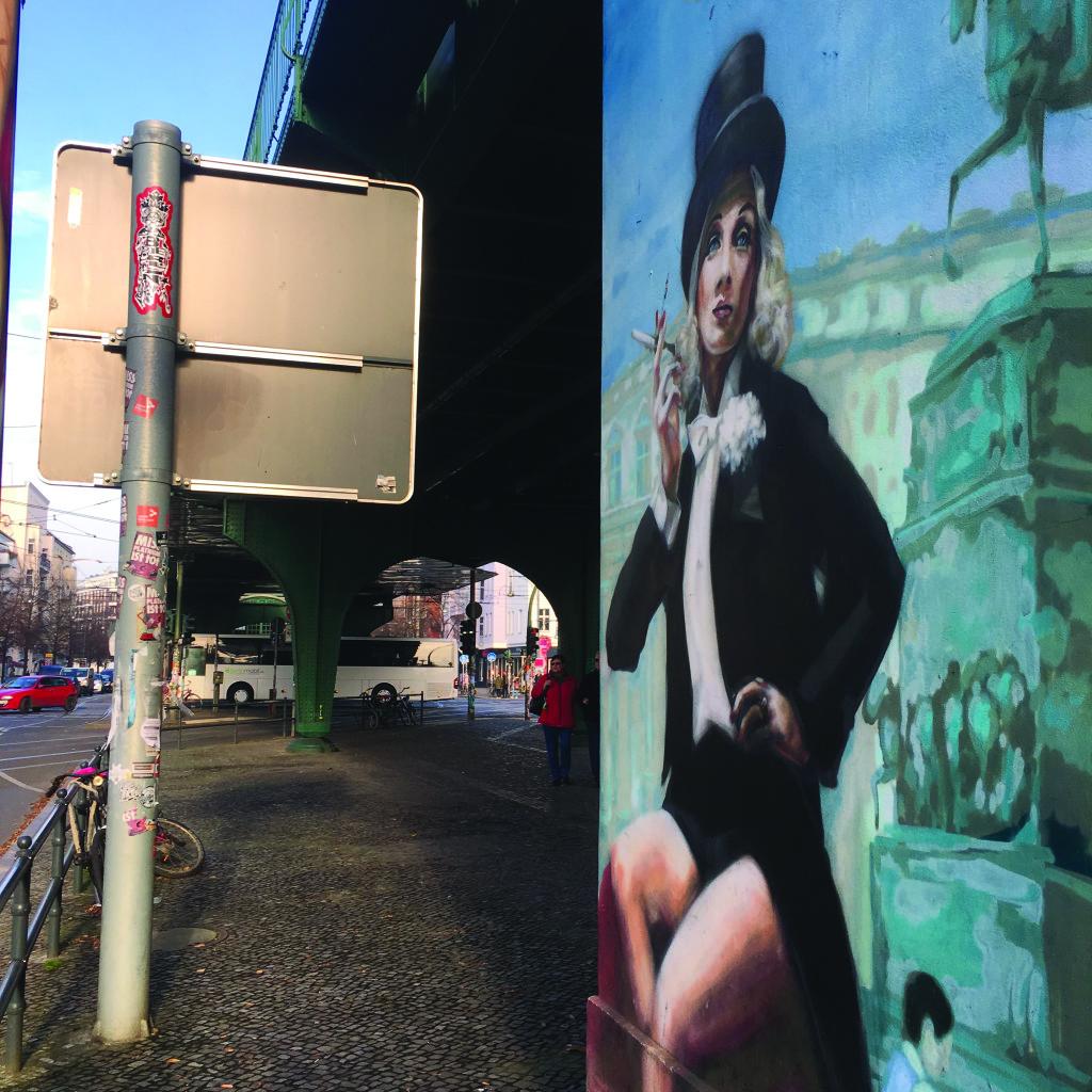 LVDX - GAY - TOURISME - Berlin - Visuel (4) - Marlene Dietrich (c) Julien Calza