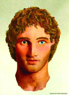 LVDX - HISTOIRE - Alexandre Le Grand - Visuel (2) - Portrait reconstitué