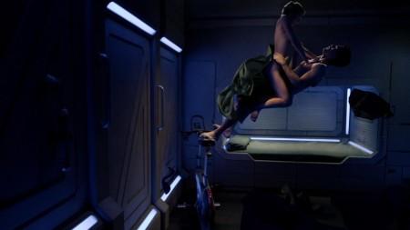 LVDX - INSOLITE - Baiser dans l'espace - Visuel (1) - Passengers