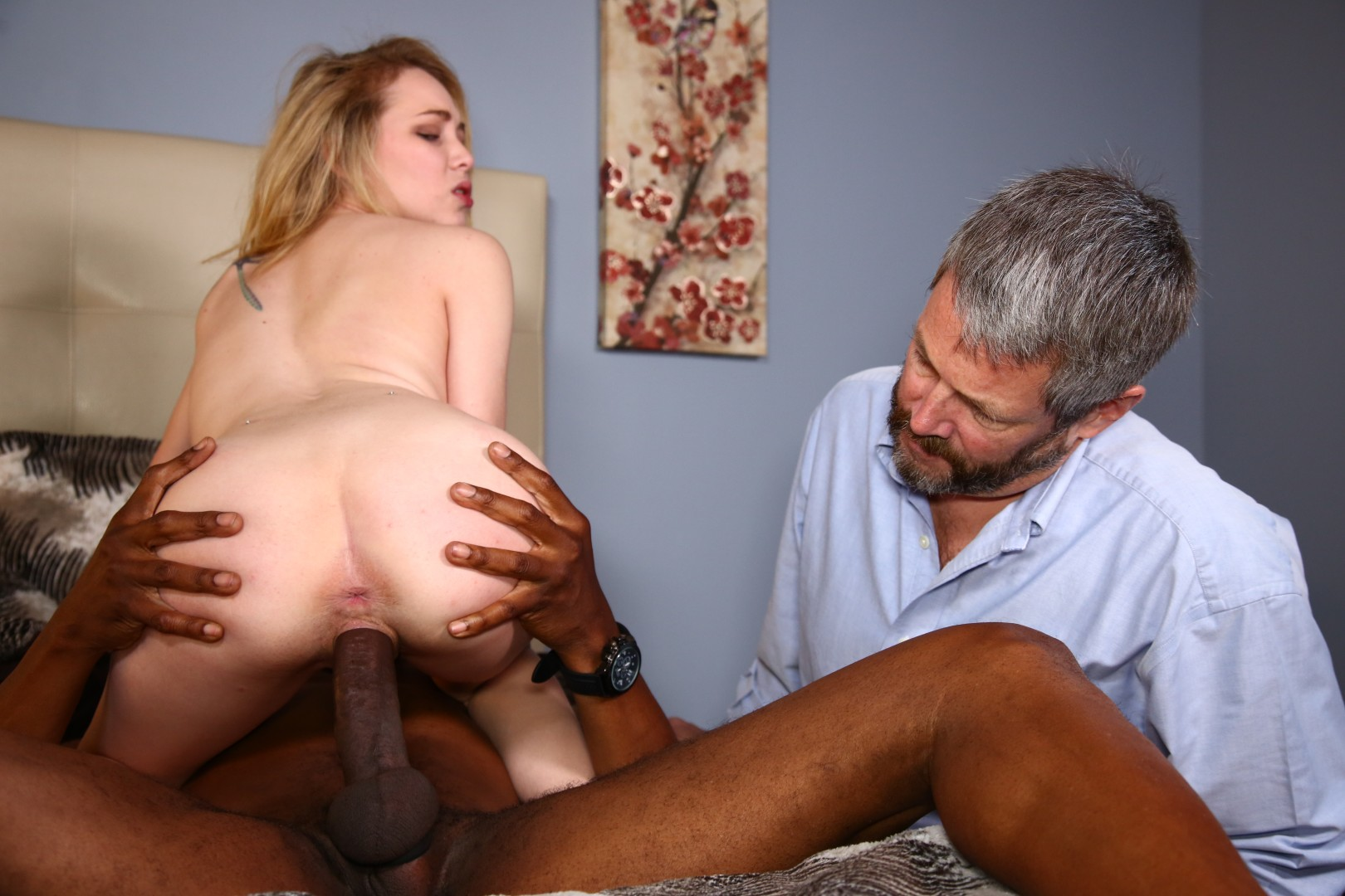 Interracial cuckold cuckold anyone tell