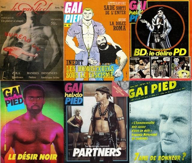 LVDX - GAY - HISTOIRE - Couvertures de Gai Pied