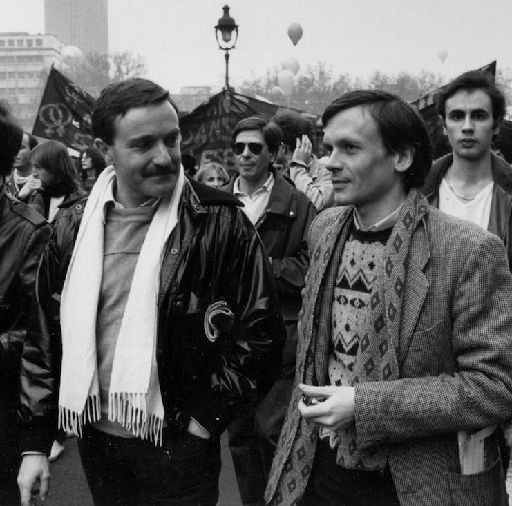 LVDX - GAY - HISTOIRE - Yves_Navarre_et_Jean_Le_Bitoux_par_Claude_Truong-Ngoc,_1981