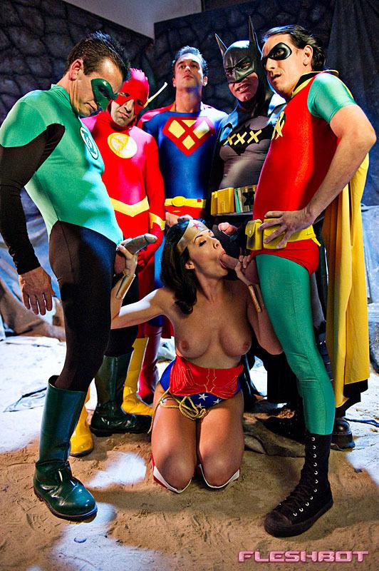Justice league xxx porn