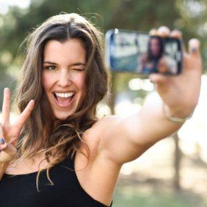 Les selfies des actrices pornos